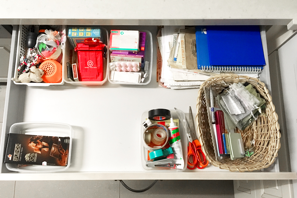 How To Organize a Miscellaneous Drawer Quickly