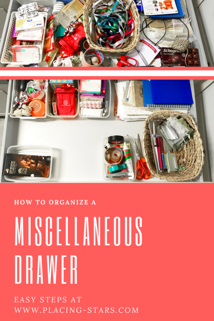organize miscellaneous drawer