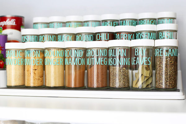 Pantry Spices rack