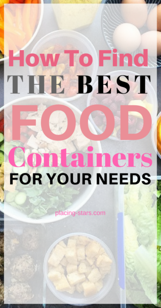 best food containers Pinterest image.