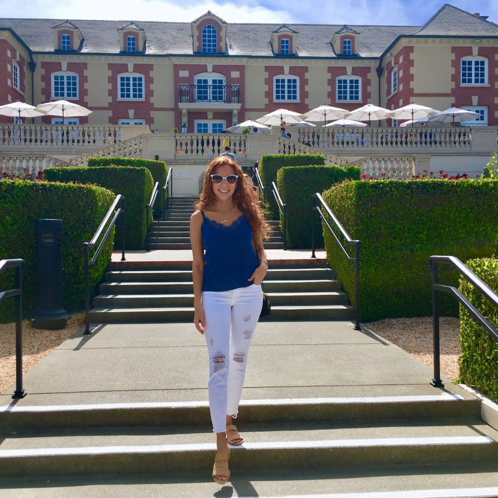 Napa Valley domaine carneros chateau