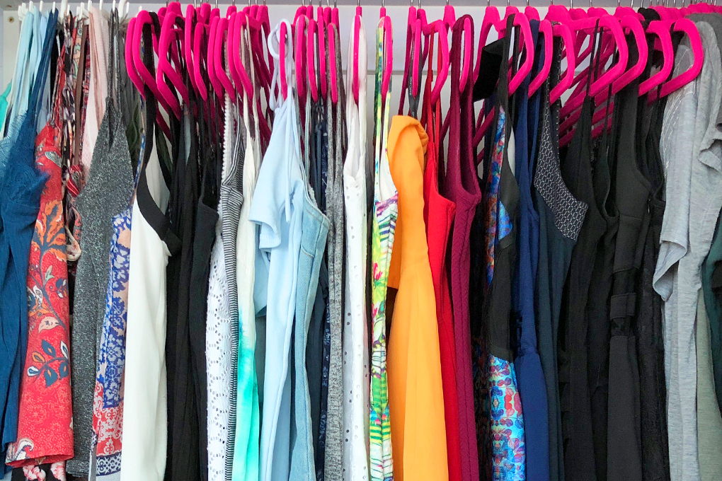 How To Make The Best of a Small Space Wardrobe