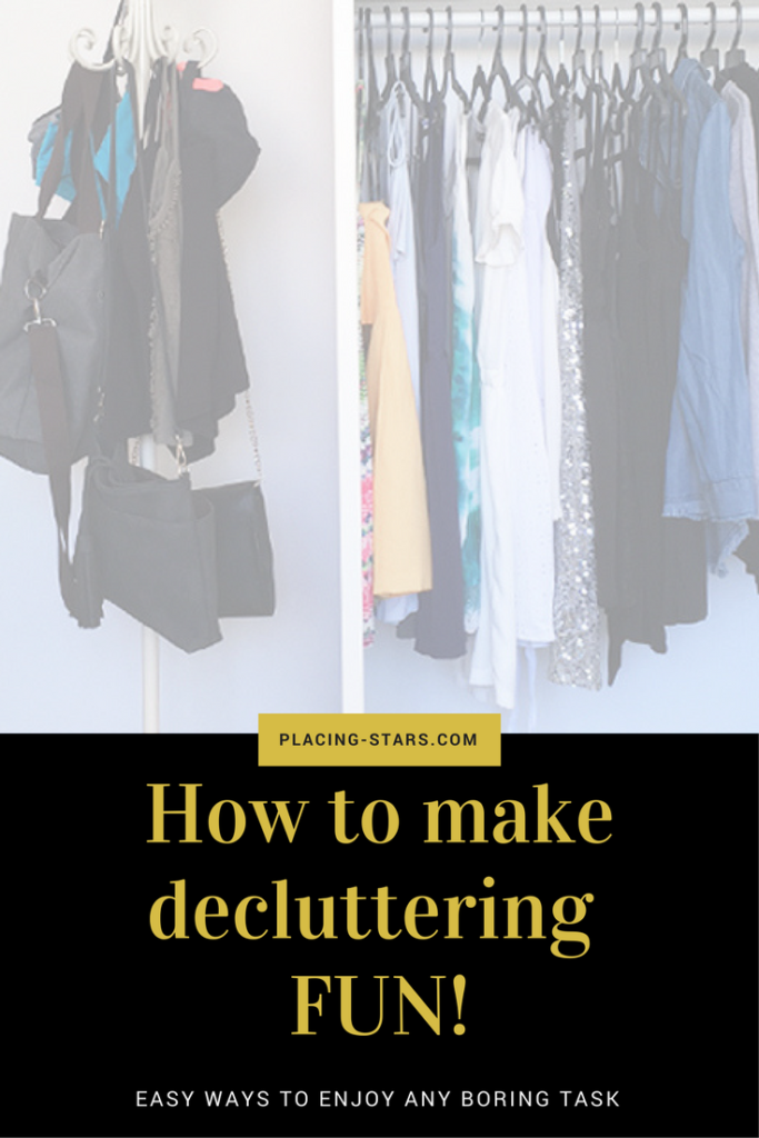 make declutter fun