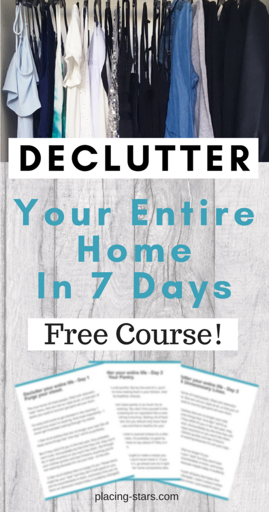 declutter your entire home