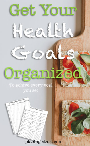 get your health goals organized to achieve everything you set for yourself